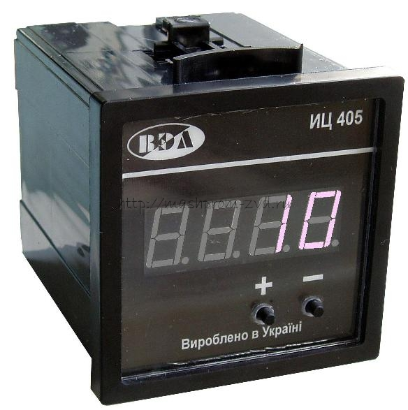 Счетчик импульсов щитовой с цифровой индикацией ИЦ405