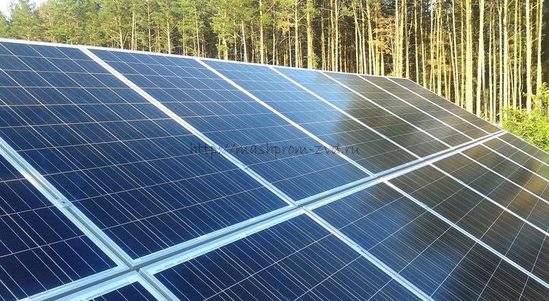 Солнечная электростанция KV7 30 кВт сетевая крышная