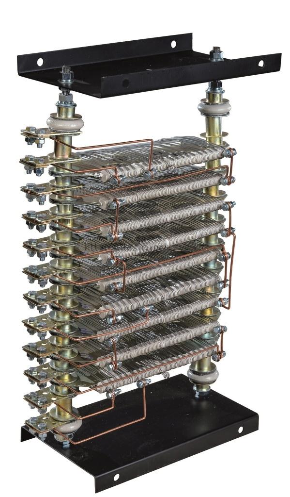 Пускорегулирующие резисторы, как отдельный элемент блоков резисторов: БТР, БРС, БРР, КФ, ЛР, ЦФ, СН, СР