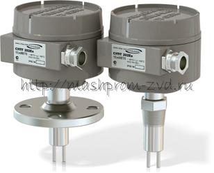Термодифференциальный сигнализатор уровня и расхода СУПТ202Ex