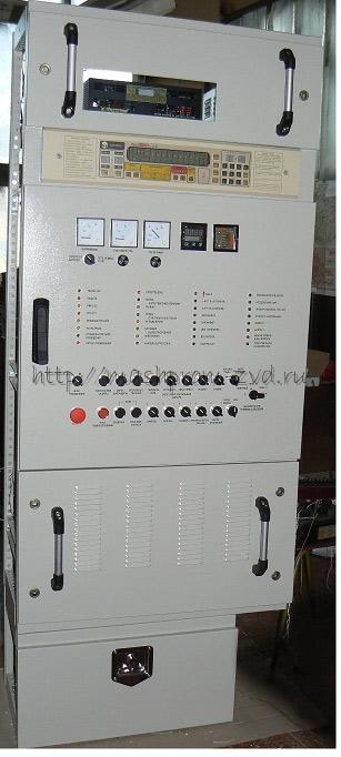 Пульт управления электрооборудованием пассажирского вагона с напряжением бортовой сети 110 В и установкой кондиционирования воздуха