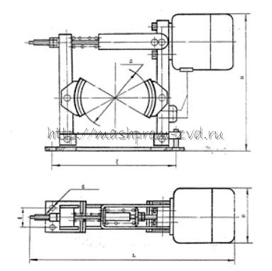 Тормоз колодочный ТКПМ-300