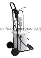 Пневматический солидолонагнетатель SAMOA арт. 424172.030 с насосом PM3 - 20 кг