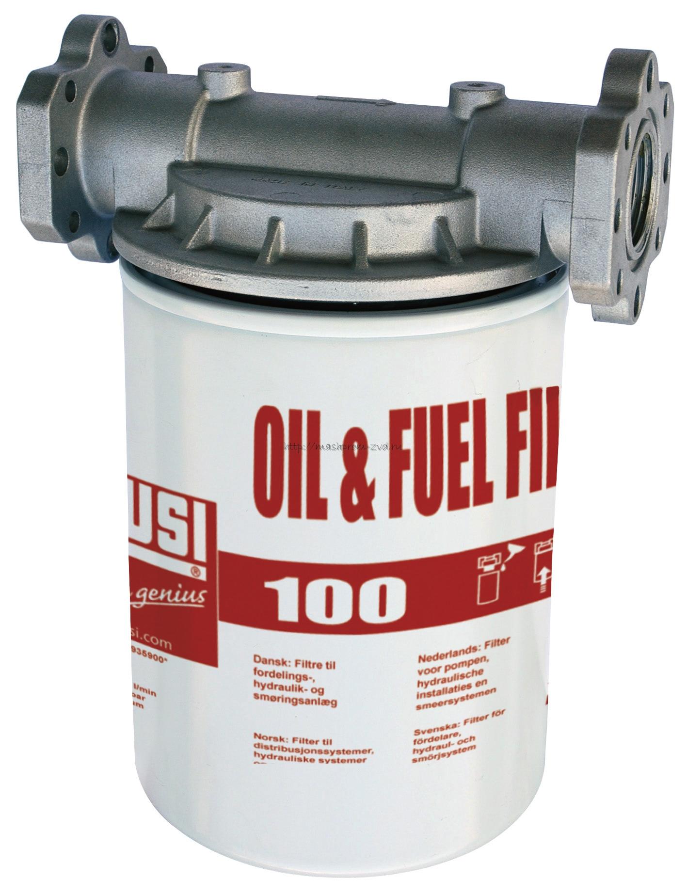 Фильтр тонкой очистки PIUSI арт. F0914900B 100 л/мин, 10 мкрн